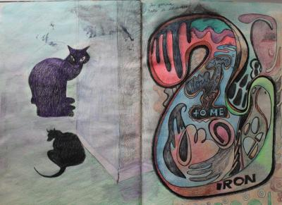 Michele Smith's cats