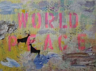 World Peace Cave Painting