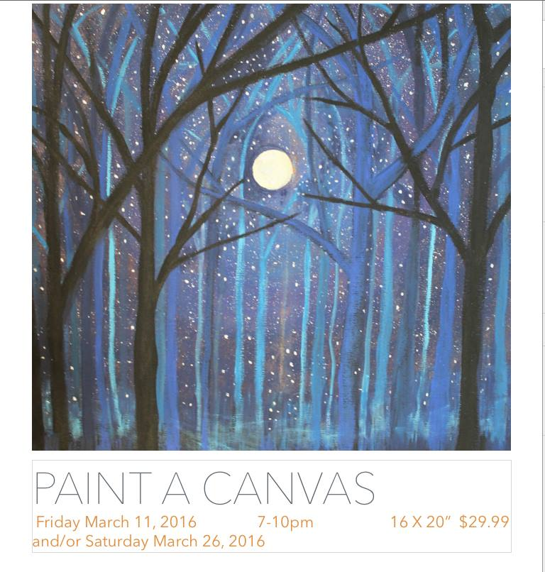 paint night march 11